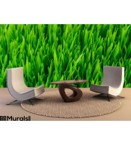Green Grass Texture Wall Mural Wall Tapestry tapestries