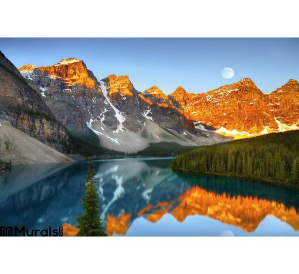 Magic Colours Landscape Wall Mural Wall Tapestry tapestries