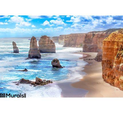 Twelve Apostles Along Great Ocean Road Australia Wall Mural Wall Tapestry tapestries