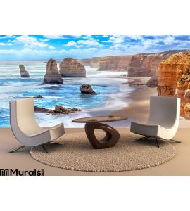Twelve Apostles Along Great Ocean Road Australia Wall Mural Wall Tapestry tapestries