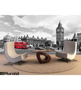 London Bus Wall Mural Wall art Wall decor
