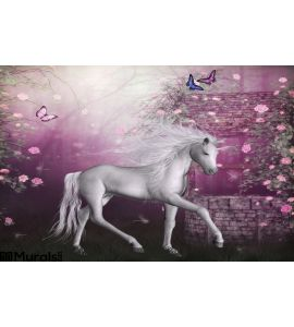 Last Unicorn Wall Mural