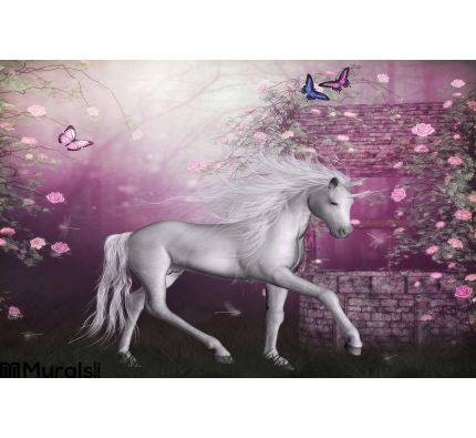 Last Unicorn Wall Mural Wall art Wall decor