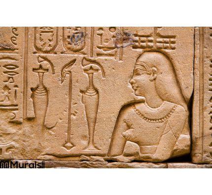 Egypt Edfu Horus Wall Mural Wall art Wall decor