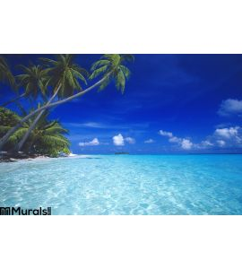 Tropical Beach Maldives Wall Mural Wall art Wall decor