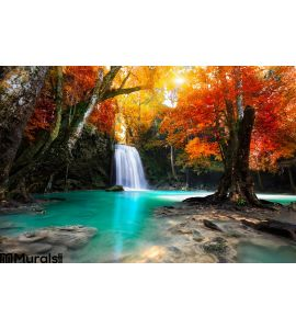 Waterfall Wall Mural Wall Tapestry tapestries