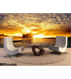 Sunset Islands Wall Mural Wall Tapestry tapestries