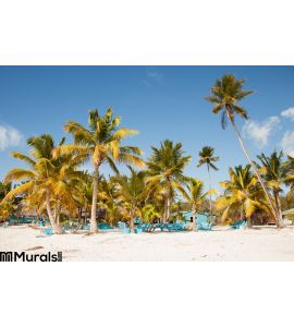 Caribbean Beach Wall Mural Wall Tapestry tapestries