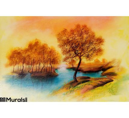 Landscapes Oil Canvas Wall Mural Wall Tapestry tapestries
