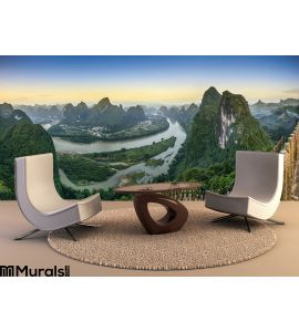 Xingping Landscape Wall Mural Wall Tapestry tapestries