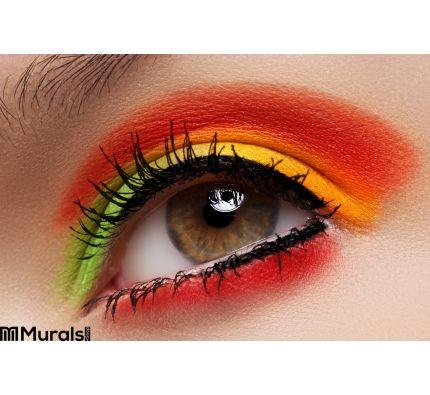 Cosmetics Eyeshadows Macro Fashion Eye Make Up Wall Mural Wall art Wall decor