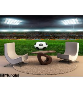 Soccer Bal Football Wall Mural Wall art Wall decor