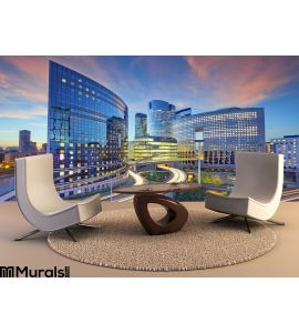 La Defense Paris Wall Mural Wall Tapestry tapestries