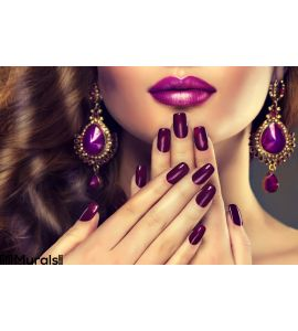 Luxury Fashion Style Nails Manicure Wall Mural Wall Tapestry tapestries