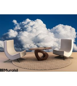Beautiful clouds Wall Mural Wall Tapestry tapestries