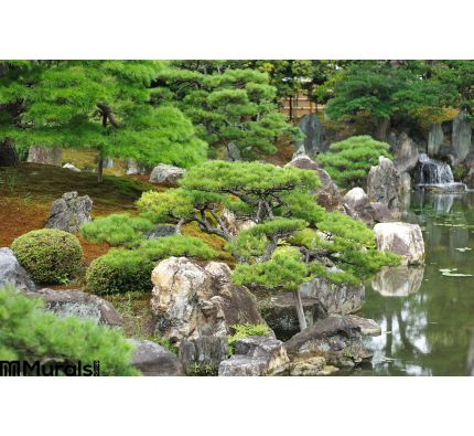 Japanese Park Wall Mural Wall Tapestry tapestries