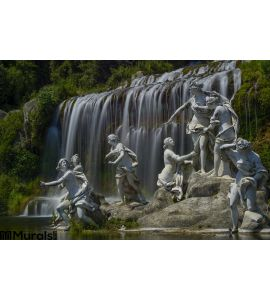 Caserta Royal Palace Statue Great Waterfall Wall Mural
