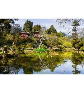 Japanese Tea Garden Wall Mural