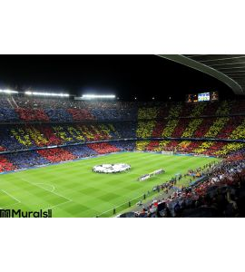 FC BARCELONA in Arena Wall Mural Wall art Wall decor