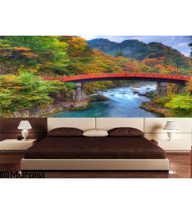 Bridge Wall Mural Wall Tapestry tapestries