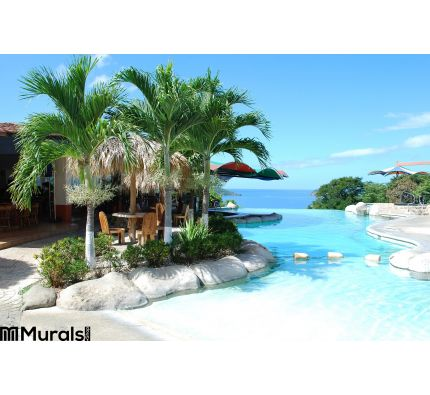 Costa Rica Tropical Vacation Wall Mural Wall Tapestry tapestries