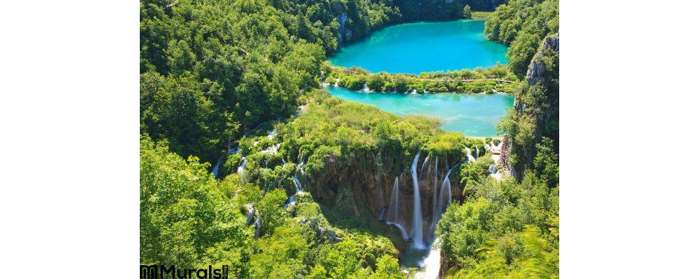 Plitvice National Park Waterfalls Croatia Wall Mural