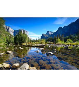 Yosemite Landscapes Wall Mural Wall art Wall decor