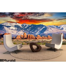 Balanced Rock Trail Wall Mural Wall art Wall decor
