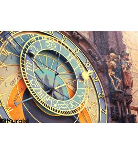 Astronomical Clock Prague Wall Mural
