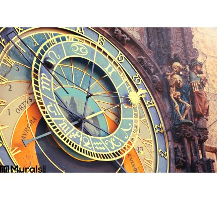 Astronomical Clock Prague Wall Mural Wall art Wall decor
