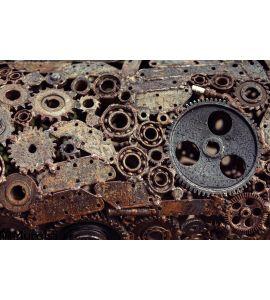Mechanical Design Gears Welded Welding Machines Idetaley Wall Mural