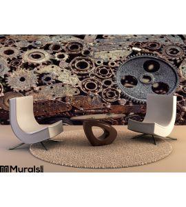 Mechanical Design Gears Welded Welding Machines Idetaley Wall Mural Wall art Wall decor