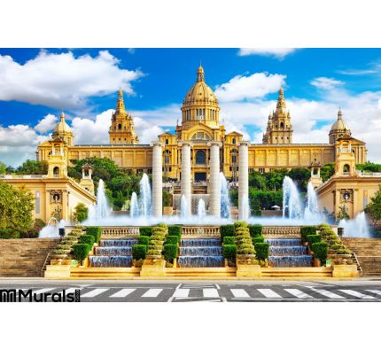 National Museum Barcelona Wall Mural Wall Tapestry tapestries