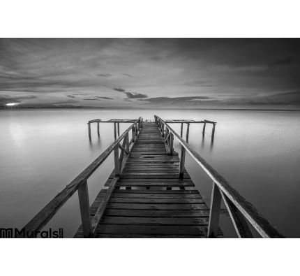 Calm Scene Black White Wall Mural Wall Tapestry tapestries