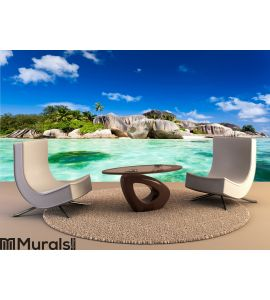 Source d'argent beach Wall Mural Wall art Wall decor