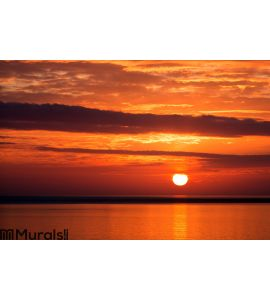 Sunset in Iceland Wall Mural Wall art Wall decor