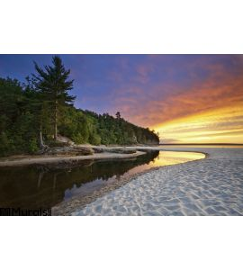 Beautiful Michigan Landscape Wall Mural