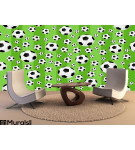 Football Seamless Background Cdr Format Wall Mural Wall art Wall decor