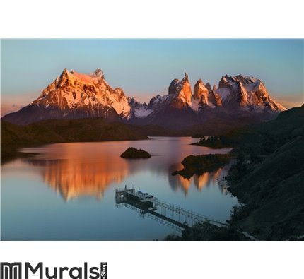 Torres del Paine National Park Wall Mural Wall art Wall decor