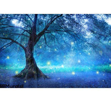 Fairy Tree Wall Mural Wall art Wall decor