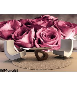 Roses Wall Mural Wall art Wall decor