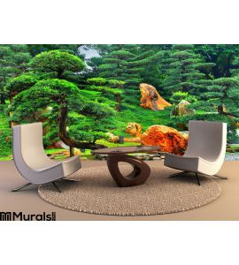 Zen Garden Wall Mural Wall art Wall decor