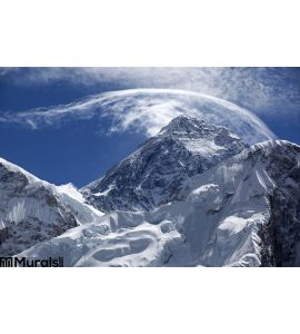 Mount Everest Wall Mural Wall art Wall decor