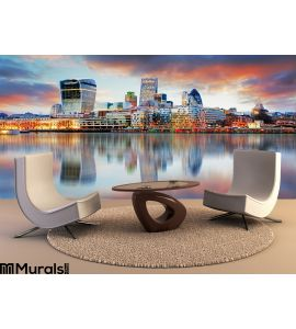 London skyline Wall Mural Wall art Wall decor