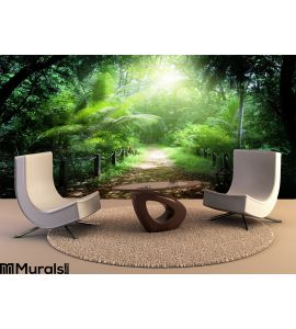 Way Jungle Seychelles Wall Mural Wall art Wall decor
