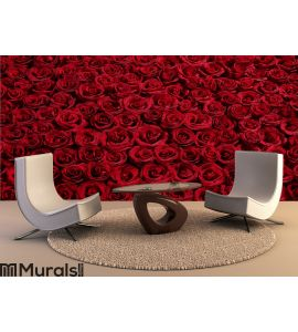 Bed of Roses Wall Mural Wall art Wall decor