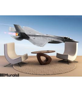 F-35 A Lightning Wall Mural Wall art Wall decor