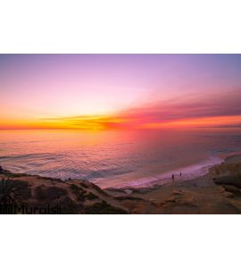 Ocean Sunset 2 Wall Mural