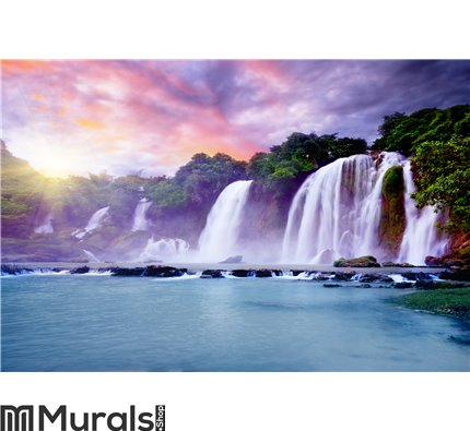 Banyue waterfall Wall Mural Wall art Wall decor