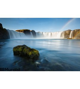 Godafoss waterfalls in Iceland Wall Mural